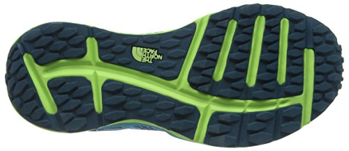 The North Face Damen Litewave Laufschuhe Blue (Blue Coral/Budding Green _ Enu)