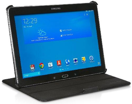 StilGut UltraSlim Case V2, Tasche mit Stand- & Präsentationsfunktion für Samsung Galaxy TabPRO 10.1, schwarz Vintage