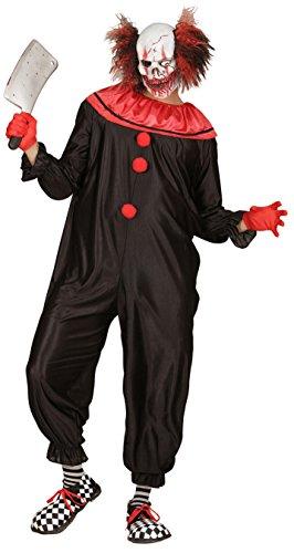Imagen de disfraz de payaso asesino adulto halloween alternativa