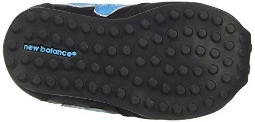 New Balance Unisex-Kinder 410 Hook and Loop Hohe Sneakers Mehrfarbig (Black/blue)