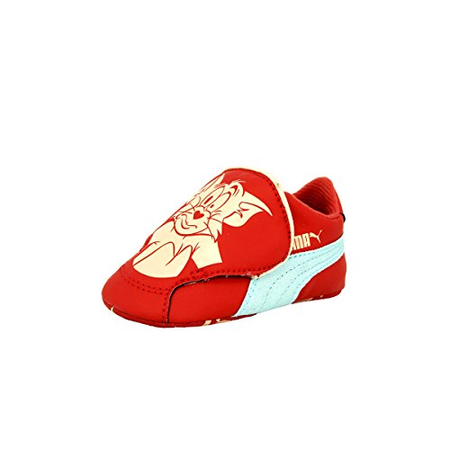 Puma CRIB PACK TOM ET JERRY 2 Chaussures Mode Sneakers Bebe Rouge PUMA