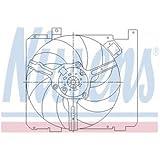 Nissens 85378 Ventilador, Refrigeración del Motor