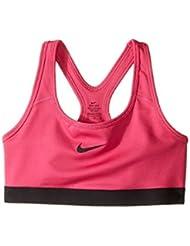 Nike G Np Bra Classic - Sujetador deportivo para niña, color rosa, talla XL