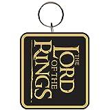 Lord of the Rings Schlüsselring Logo schwarz 7.5x15cm. Offiziell lizenziert