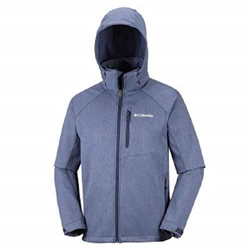 Columbia Winddichte Softshelljacke für Herren, Cascade Ridge II Softshell, Polyester, blau Preisvergleich
