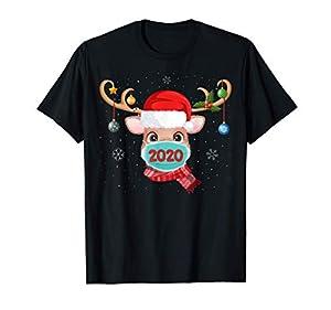 Reno con mascarilla Navidad 2020