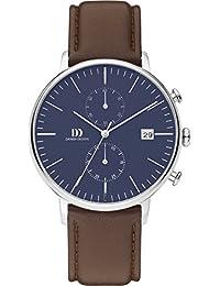 Danish Design Herren-Armbanduhr Analog Quarz Leder IQ42Q975