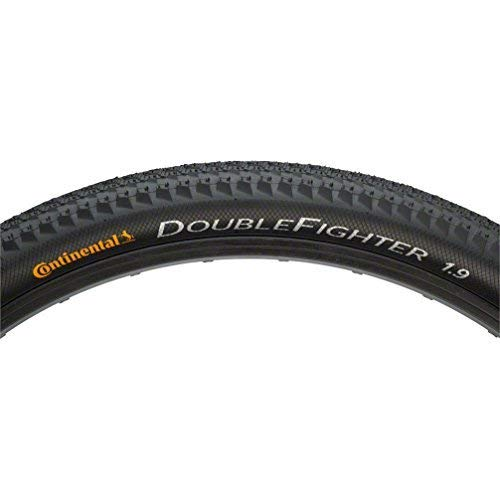 Continental double fighter iii wire tyre - 26, 1.90 by continental