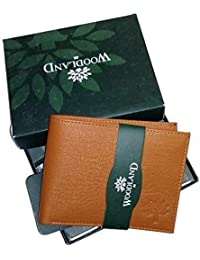 Woodland Tan Men'S Leather Wallet …