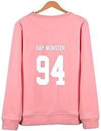 Unisex BTS Bangtanboys langärmelig Shirt Pullover Frühling Herbst
