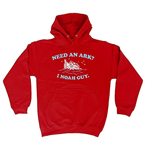 Funny Gift Need An Ark I Noah Guy (XXL - RED) HOODIE