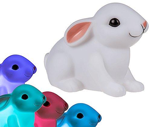 Veilleuse Bébé Lapin Multicolore - Cadeau Maestro