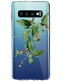 """Funda para Samsung Galaxy S10E, Carcasa Transparente Protectora Reforzado Cojín de Esquina Parachoques Case Flexible TPU Suave Anti-Choque Ultra-Delgado Back Protección para Galaxy S10E 5.8"""""""