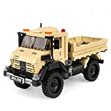 ICW 520pcs OFF ROAD ADVENTURE Car Series The Super Truck Model Set Building Blocks Bricks XB03026