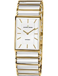 Jacques Lemans Damen-Armbanduhr XS Analog Quarz Keramik 1-1651F