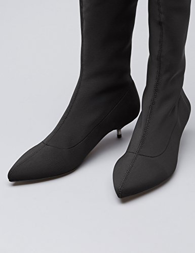 Trovare Scarpe Da Donna Coscia Alta Spettacolo Nero (nero)