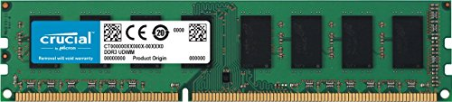 Ecc-buffered Memory Module (Crucial CT102472BD160B 8GB DDR3 PC3-12800 Unbuffered ECC)