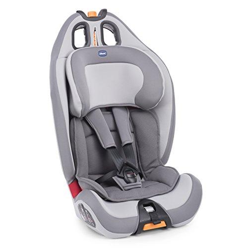 Chicco Gro-Up 123 Car Seat Seggiolino Auto, Grigio