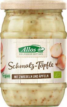 Allos Bio Schmalz-Töpfle mit Zwiebeln und Äpfeln (1 x 250 gr)