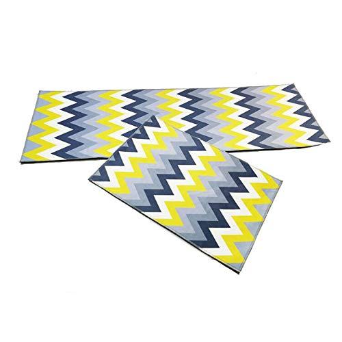 MMSM Teppiche Teppiche Küchenmatte Badezimmertürmatte Schlafzimmer Bettdecke Super Weichen Teppich Kann In Der Maschine Gewaschen Werden,T-08-40 * 60CM