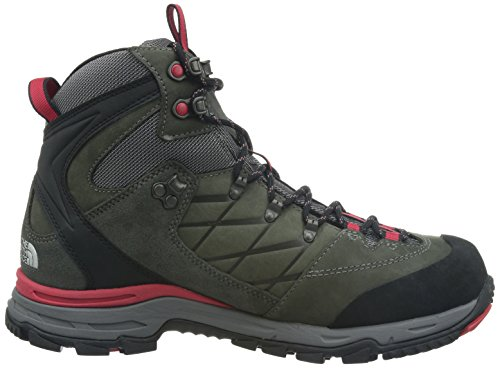 The North Face  Verbera Hiker GTX II, Chaussures de trekking et de randonnée homme Gris (Graphite Grey/Tnf Red 0T5)