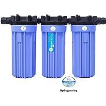 Pureau 1H + toda la casa combinado saltless Suavizante y filtro de agua con añadido hidrógeno