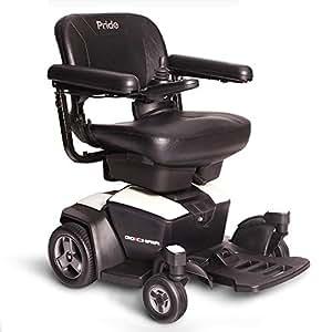 Pride Go Chair Portable Power Chair, Pearl
