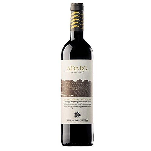 Adaro - Vino Tinto - Crianza - Ribera Del Duero - Vino De Autor - 100% Tempranillo - Vino Homenaje Al Fundador De La Marca, Javier Cremades De Adaro - 1 Botella - 0,75 L