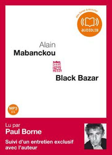 Black Bazar (cc) - Audio livre 1CD MP3 - 696 Mo