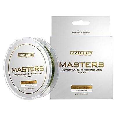KastKing Masters Tournament Grade Monofilament Fishing Line - Pro Series Mono Line Premium Fishing Line - Super Smooth Casting, Abrasion Resistant, and Superior Strength -Award Winning from Eposeidon