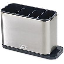 Joseph Joseph Surface Stainless-Steel Cutlery Drainer - Silver