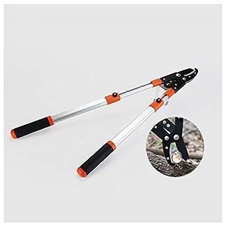 XPKZYSLJ-J Tijera Cortarramas Telescópica HRC50-55 68-104 cm Hoja de Corte Bypass Tijera de poda 2 Manos