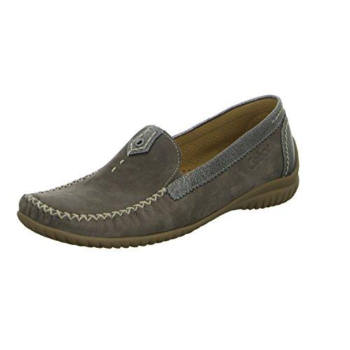 Gabor Shoes Damen Comfort Mokassin, Braun (Fumo/Anthrazit 31), 38 EU