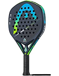 Head Graphene Touch Omega Pro Pala de Padel, Unisex Adulto, Negro/Azul,