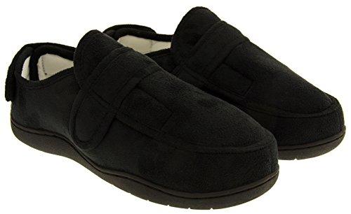 Footwear Studio Réglable Velcro Orthopédique Pantoufles Hommes