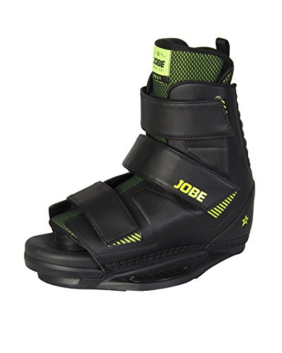 Jobe Herren Host Velcro Wakeboard Bindings, Black, 7.5/11