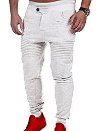 Kasen Pantalones Hombre Deportivos Joggers Deporte Pantalones Entrenamiento  Fitness Pantalones 36d880b289c8
