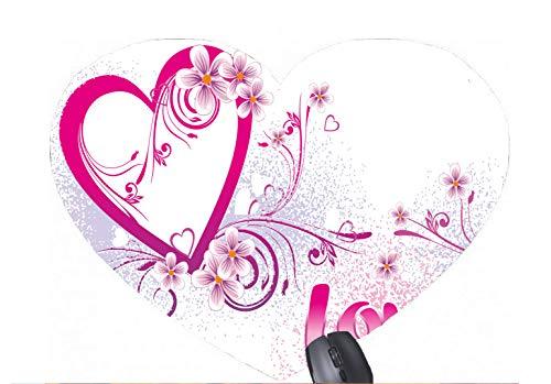 Ideen für einen Freund Valentinstag Karte Muster gedruckt herzförmigen Mauspad