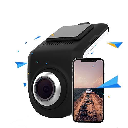 ZHL WiFi Dash Cam, HD 1080P 140 ° -Winkel-Autokamera Mit Nachtsicht Und 24-Stunden-Parküberwachungskamera Für Autos