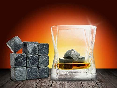9x Whiskey Steine Whiskeysteine Kühlsteine Speckstein Eiswürfel Natursteine 100% Original Möbel & Wohnen Whisky/whiskey