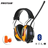 Best Safety Works Fm Digital Radios - PROTEAR Bluetooth AM FM Radio Hearing Protection Safety Review