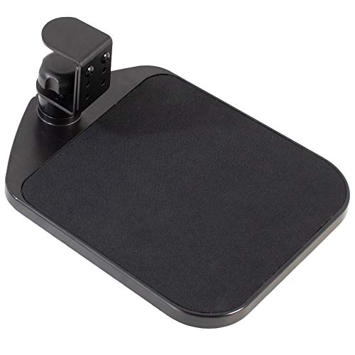 Vivo Halterung für Computer-Tastatur und Maus unter dem Schreibtisch Mouse tray schwarz (Computer Und Keyboard Mount)