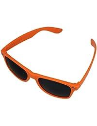 BOOLAVARD ® 4026 Lunettes de soleil modèle Nerd (Teinte Orange) e435BVVOcN