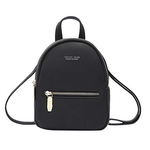 Damen Student Schulrucksack Rucksack Schultasche handbag, Frauen Messenger Bag Mini Bag Bagpack Umhängetasche - Chic Hobo