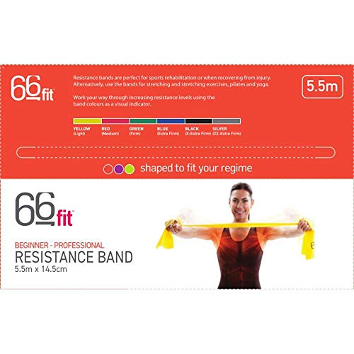 Zoom IMG-2 66fit elastico fitness giallo gelb