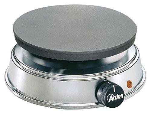 ARDES Elektrokocher BRASERO 53 - 1.500 Watt - 22 cm Durchmesser gusseiserne Platte