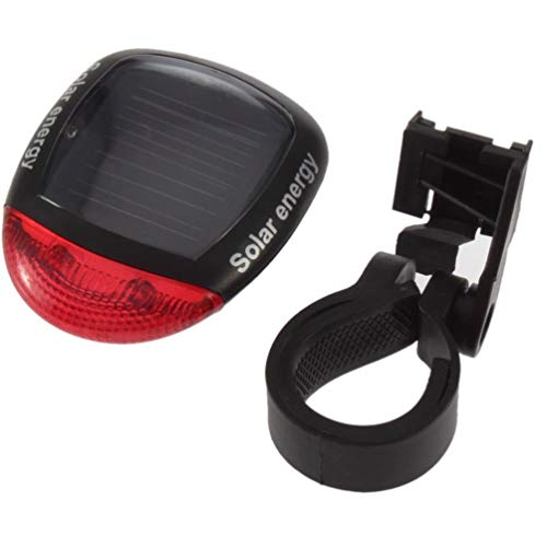 Hehilark - Luz LED Solar para Bicicleta, luz Trasera, luz Trasera, luz...