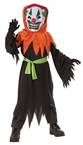 lown Halloween 122 128 8-10 Jahre (Böse Clown Kostüm Großbritannien)
