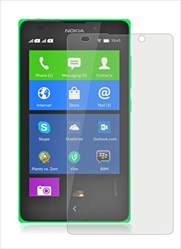 Heartly Crystal Clear Glossy Hot Transparent Protective Ultra Screen Gaurd Scratch Protector for Nokia XL Dual Sim  available at amazon for Rs.109