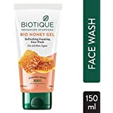 Biotique Bio Honey Gel Refreshing Foaming Face Wash, 150ml